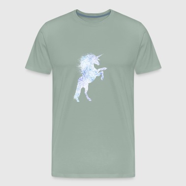 unicorn queen princess born in glitter funkle shin - Men's Premium T-Shirt