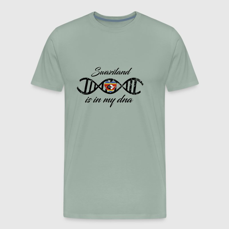 love my dns dna land country Swaziland - Men's Premium T-Shirt