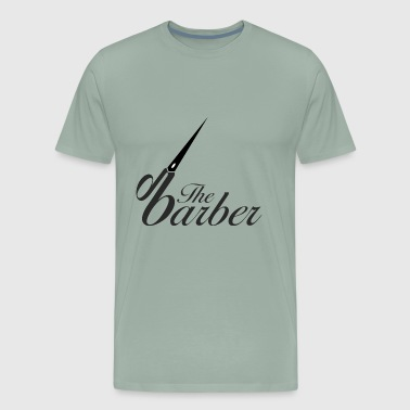 The Barber - Men's Premium T-Shirt
