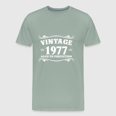 Birthday Vintage 1977 Aged to Perfection - Men's Premium T-Shirt