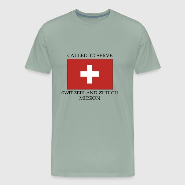 Zurich Switzerland Zurich LDS Mission Called to Serve - Men's Premium T-Shirt