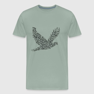 peace doof - Men's Premium T-Shirt