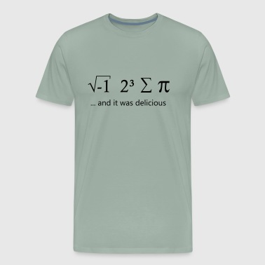 I ate some pie - Men's Premium T-Shirt