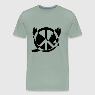Peace And Peace - Men's Premium T-Shirt