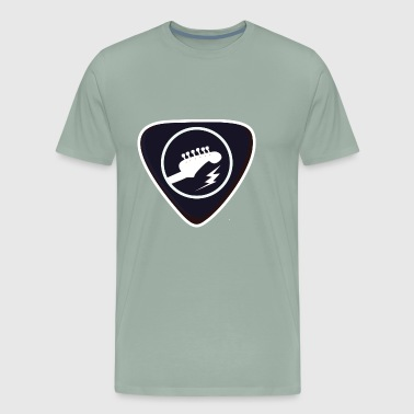 Guitar Pick - Men's Premium T-Shirt