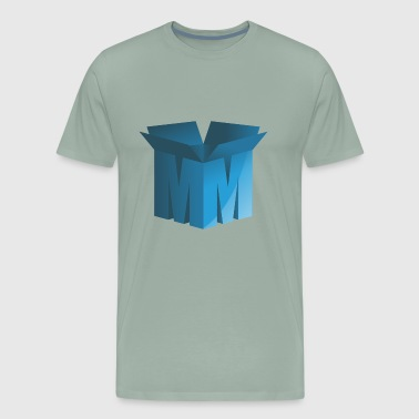 M letter box - Men's Premium T-Shirt