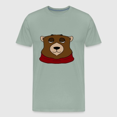 red bear - Men's Premium T-Shirt