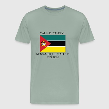 Mozambique Maputo Mission Called to Serve Flag - Men's Premium T-Shirt