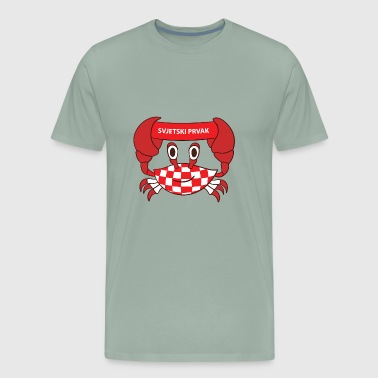 Croatia world champion - Men's Premium T-Shirt