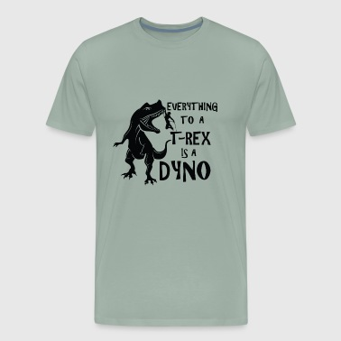 Rock Climbing Dyno - Men's Premium T-Shirt