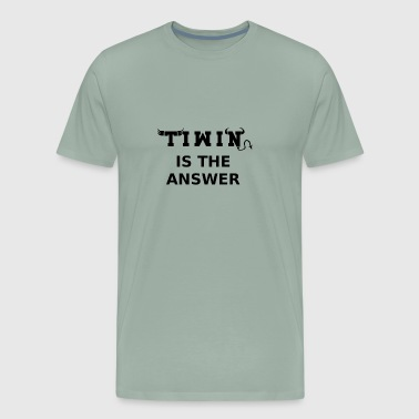 THIS IS WHO I AM OR NOT (TIWIN) - Men's Premium T-Shirt
