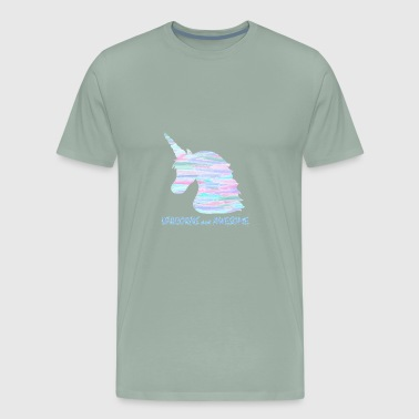 Unicorns are Awesome - Men's Premium T-Shirt