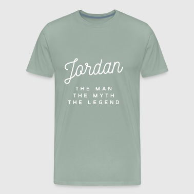 Jordan the man the myth the legend - Men's Premium T-Shirt