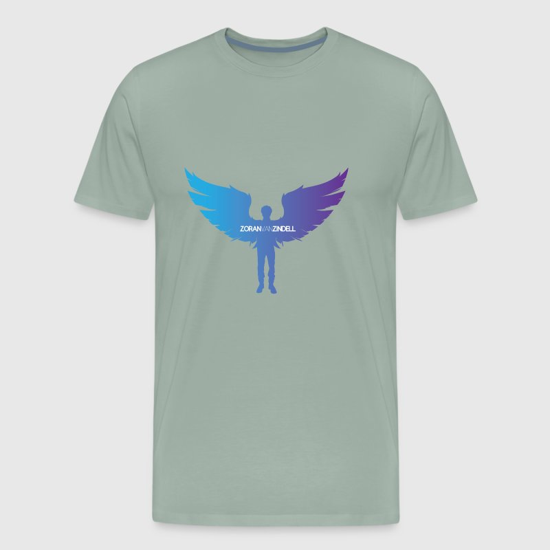 ZoranVanZindell Blue Mens Original Logo - Men's Premium T-Shirt