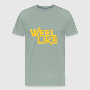 Weel Like Yellow - Men's Premium T-Shirt