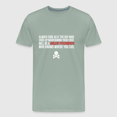Violent Psychopath - Men's Premium T-Shirt