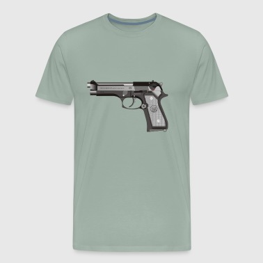 Beretta Beretta Weapon Danger - Men's Premium T-Shirt