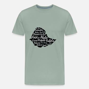 Ethiopia Ethiopia cities - Men's Premium T-Shirt