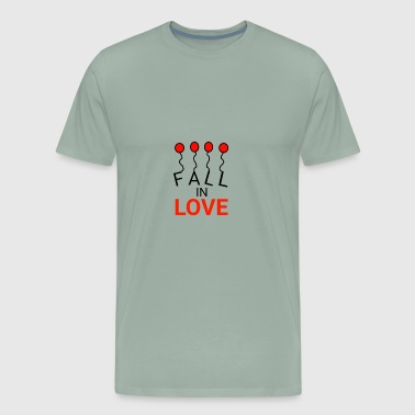 FALL IN LOVE - Men's Premium T-Shirt