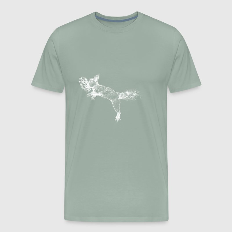Wild Squirrel - Men's Premium T-Shirt