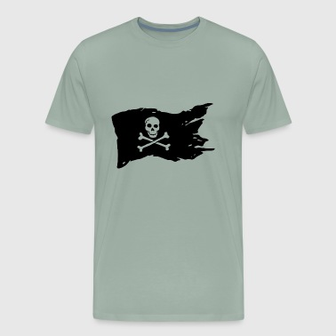 Pirate Flag - Men's Premium T-Shirt
