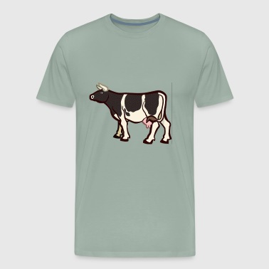 Animal Animals Cow Farm Tier Verbs 2024102 - Men's Premium T-Shirt