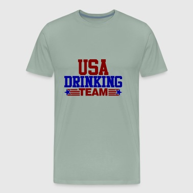 Usa-drinking-team USA Drinking Team - Men's Premium T-Shirt
