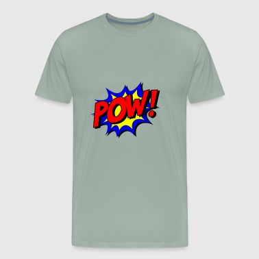 Pow! retro - Men's Premium T-Shirt