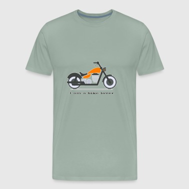 I am a bike lover - Men's Premium T-Shirt