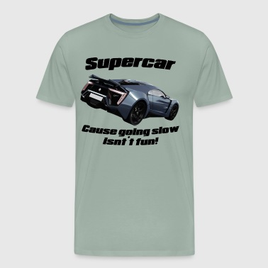 Supercar! - Men's Premium T-Shirt
