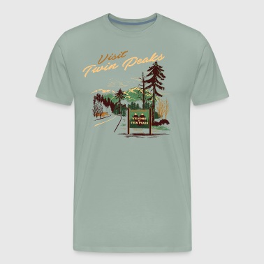 Twin Peaks Twin peaks matchbook cover - Men's Premium T-Shirt