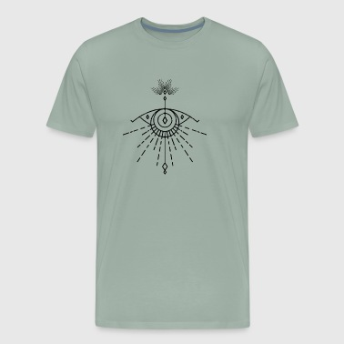Ever Seing Eye by Qenjo - Men's Premium T-Shirt