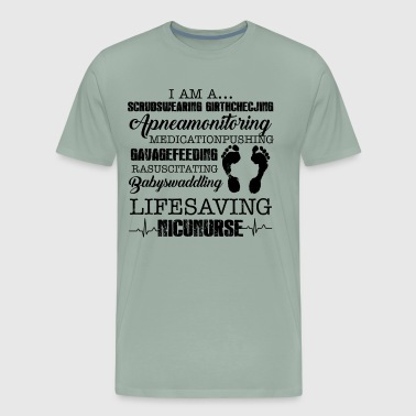 Everyday Life Everyday Life Saving Nicu Nurse Shirt - Men's Premium T-Shirt