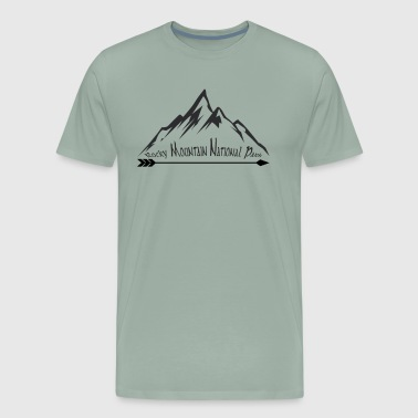 Rocky Mountain National Park Souvenir Vacation Mountain Travel Design - Men's Premium T-Shirt