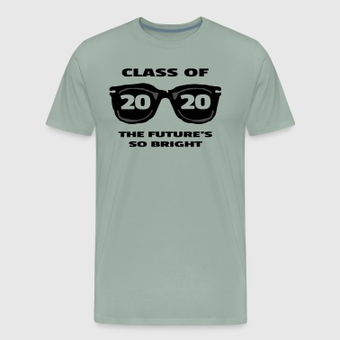 2022 Class 2020 The Future's So Bright Sunglasses - Men's Premium T-Shirt