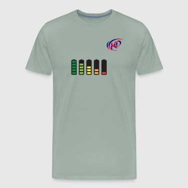 battery charging - Men's Premium T-Shirt