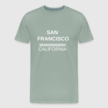 SF Tee, San Francisco T-Shirt, Gift, idea, City, C - Men's Premium T-Shirt