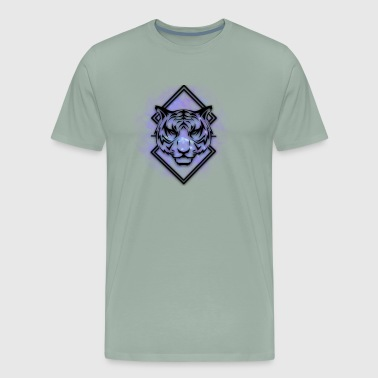 Galaxy tiger - Men's Premium T-Shirt