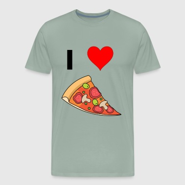 I Love Pizza And You I love Pizza - Men's Premium T-Shirt
