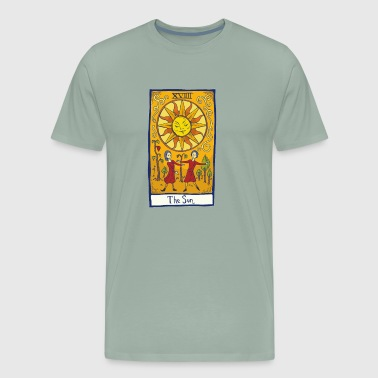 The Sun Tarot Card - Men's Premium T-Shirt