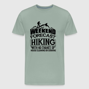 Weekend Forecast Hiking Shirt - Men's Premium T-Shirt