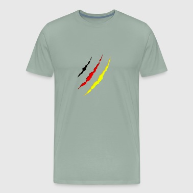 German - under my clothes - Men's Premium T-Shirt