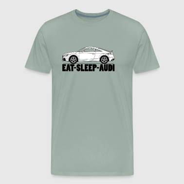 EAT SLEEP AUDI TT - Men's Premium T-Shirt