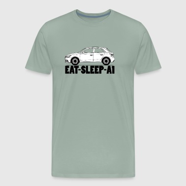 Eat Sleep A1 - Men's Premium T-Shirt
