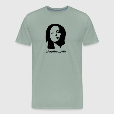 Angelina jolie - Men's Premium T-Shirt