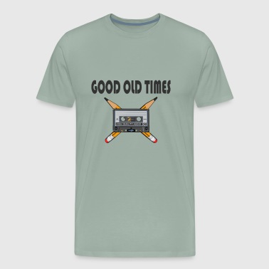 Analog Good Old Times limited gift idea - Men's Premium T-Shirt