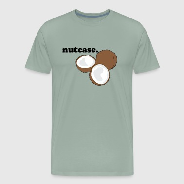 nutcase. (coconut) - Men's Premium T-Shirt