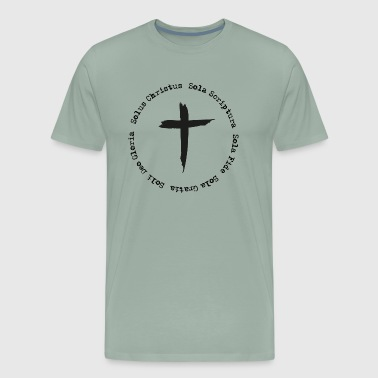 5 Soli of Martin Luther - Men's Premium T-Shirt