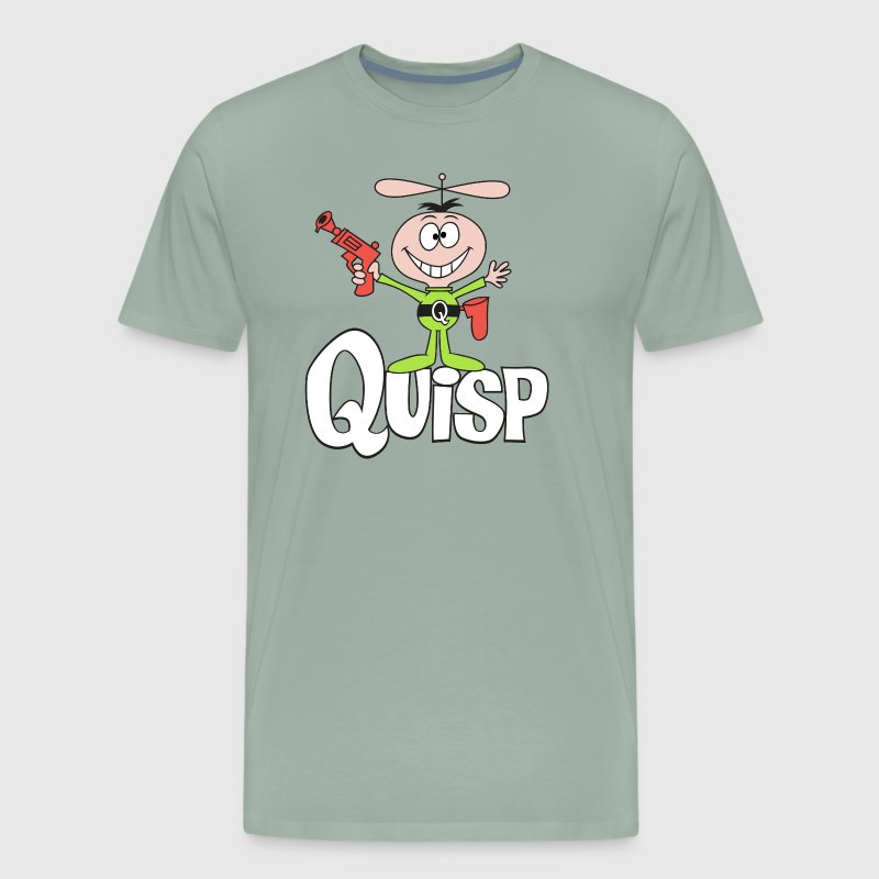 Quisp (original logo) - Men's Premium T-Shirt