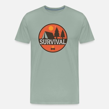 Survive Survival - Men's Premium T-Shirt
